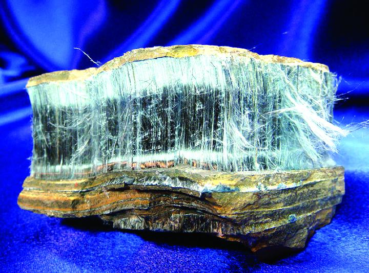 Asbestos stone